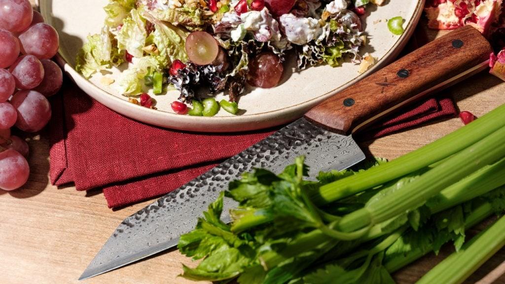 damas kiritsuke et salade de fruits